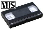 Digitizing World - VHS, S-VHS, VHS-C